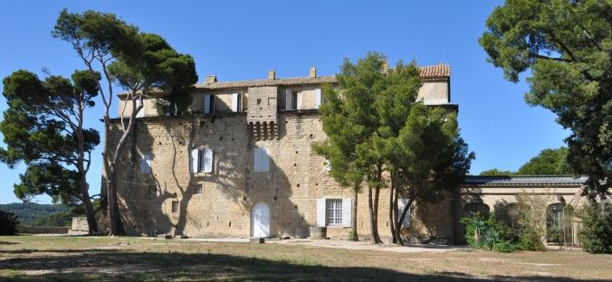 Caslte of Saumane de Vaucluse, Saumane, Marquess of sade #Castle #Saumane #Vaucluse