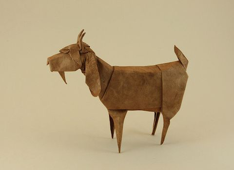 Awesome animal origami by Quentin Trollip.