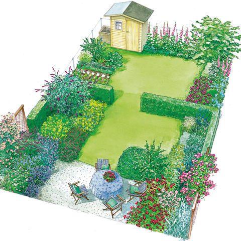 Langer Garten Gestalten 319 besten gartengestaltung bilder auf garten terrasse