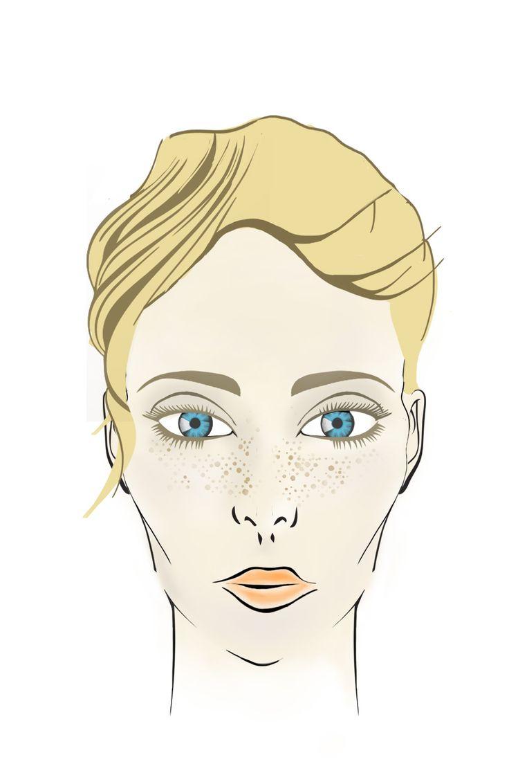 WIOSNA Cera: jasna, pełna blasku, często różowy koloryt, szybko sięopala Oczy: zielone, niebieskie lub jasno brązowe. Włosy: często blond, jasny brąz z delikatnymi refleksami lub odcieniami rudości. Makijaż: Wiosenny typ urody lubi naturalny, łagodny makijaż. Doskonale podkreślą go odcienie różu, kolor łososiowy, pomarańcze czy delikatne fiolety. Polecane również są ciepłe brązy. Kolory, których należy unikać to intensywna czerwień oraz głęboka czerń.