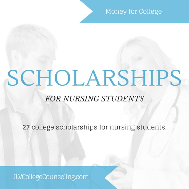 27 college scholarships for Nursing and other health related majors.