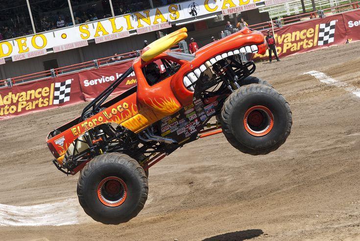 El Toro Loco monster truck by Brandon Lee