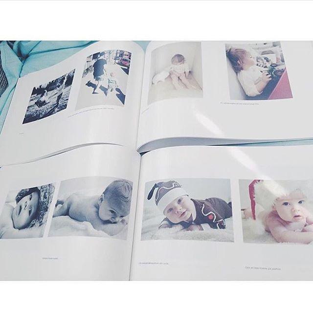 Två fotoböcker med 80 bilder samlade i varje bok. Tack @edaavictoria för den fina bilden! www.printasquare.com/fotobocker #fotobok #fotoböcker #framkalla