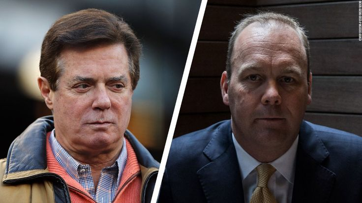 Former Trump campaign chairman Paul Manafort and former Trump campaign official Rick Gates surrendered Monday to Justice Department special counsel Robert Mueller, according to a source with direct knowledge of the matter.
