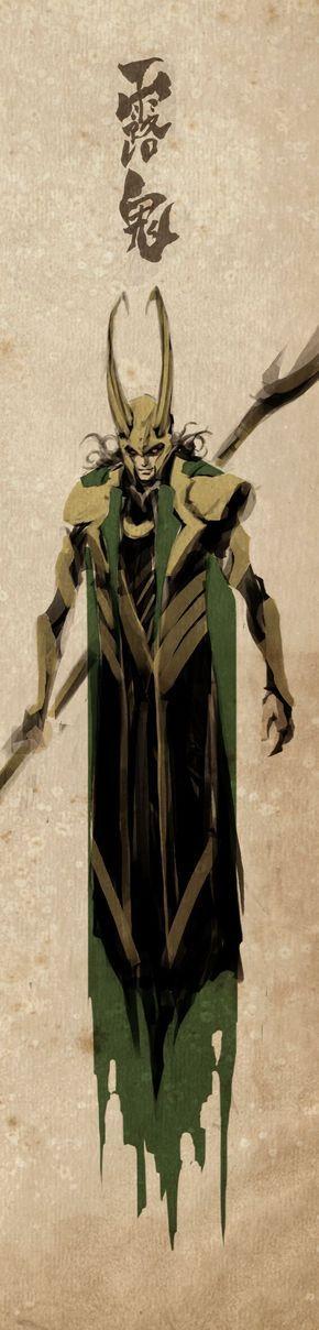 Loki by naratani on deviantART - Visit to grab an amazing super hero shirt now on sale!