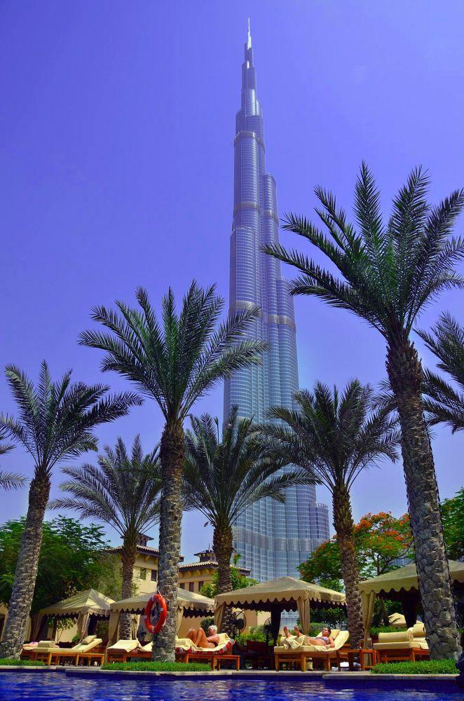 Burj khalifa Dubai by Giovanni Frenda