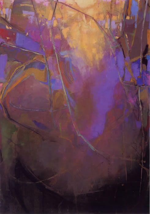 Painting: Riverbend 4 - Brian Rutenberg .