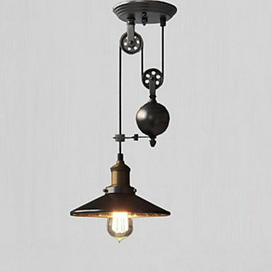 Pendant Light Downlight - Mini Style, Rustic / Lodge Vintage Country Retro, 110-120V 220-240V, Warm White, Bulb Not Included