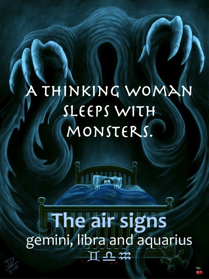 a thinking woman sleeps with monsters