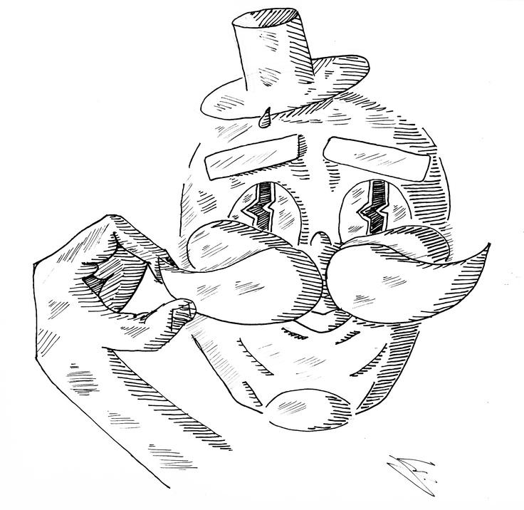 MOAI Mustage Head