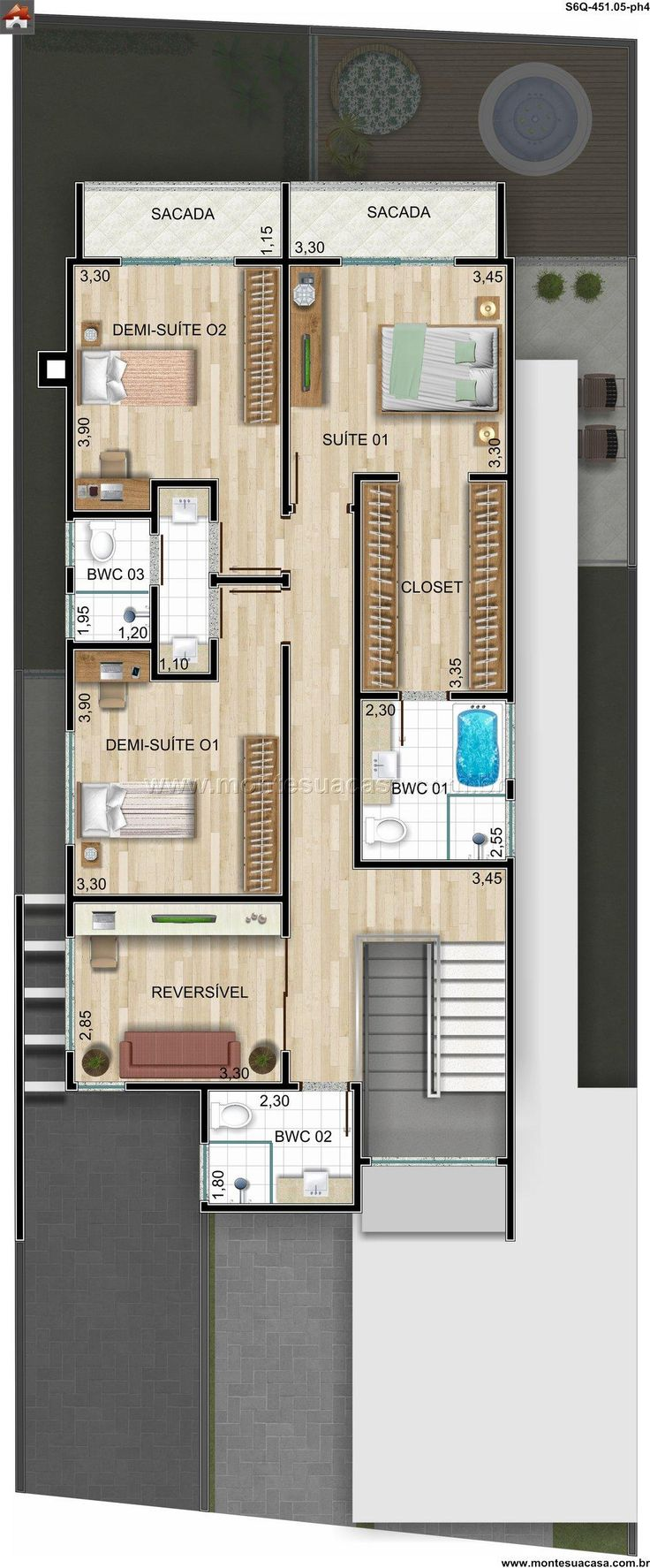 116 mejores im genes de dise os casas rectangulares en for Casas rectangulares