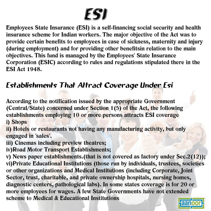 Esi Services Employees State Insurance State Insurance