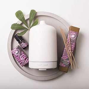 Bring peace and tranquility to your heart with our beautiful diffuser and incense offer.