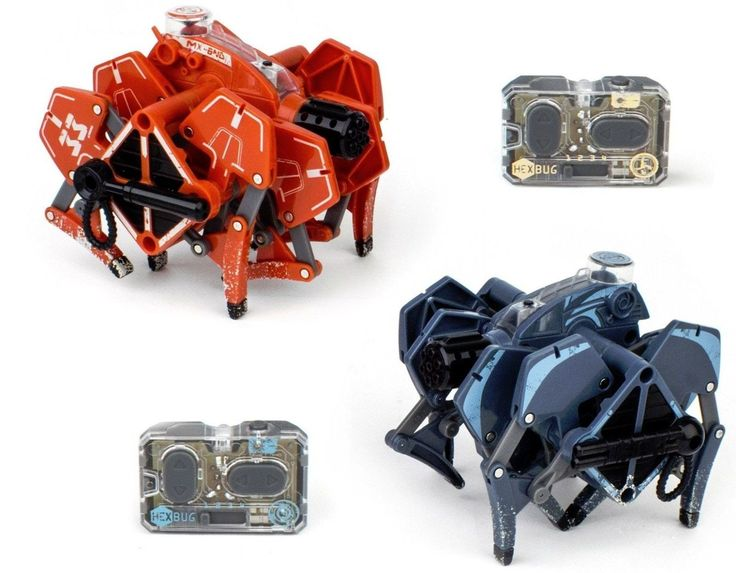 HEXBUG Battle Ground Tarantula Kids RC Radio Control Robotic Toy Dual Pack
