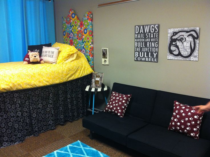 Abby S Dorm Room At Mississippi State Dorm Room Ideas