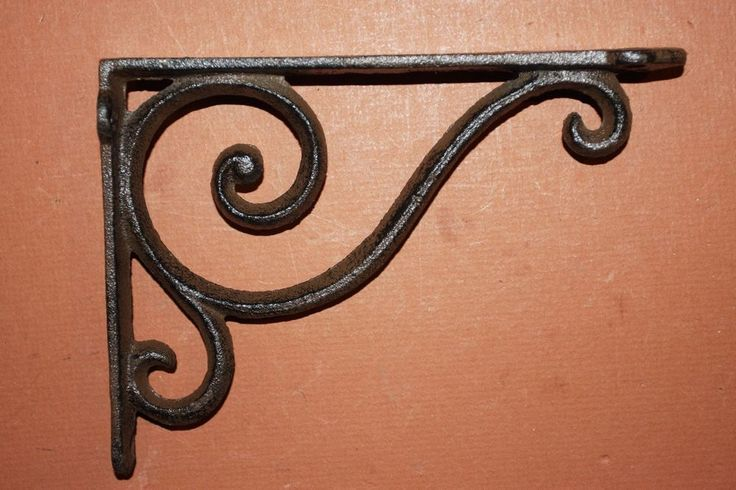 best 20 cast iron shelf brackets ideas on pinterest shelf brackets kitchen shelf interior. Black Bedroom Furniture Sets. Home Design Ideas