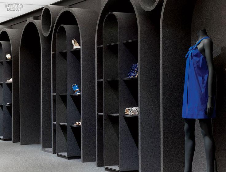 Gray Area Viktor Rolfs Paris Flagship By Architecture Associs Interior Design