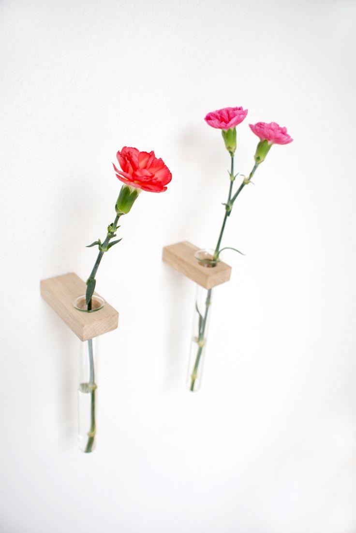 Wall Vases TUBES 98 best flower vases