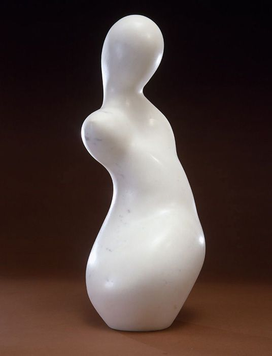 Jean Arp- Torso Fruit. This guy does amazing abstract artwork, and he toys with the titles... This one is probably my favorite of his!!