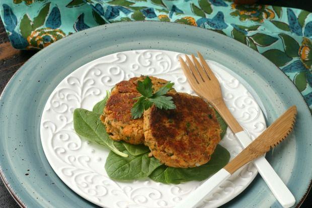 Easy Veggie Packed Paleo Salmon Cake