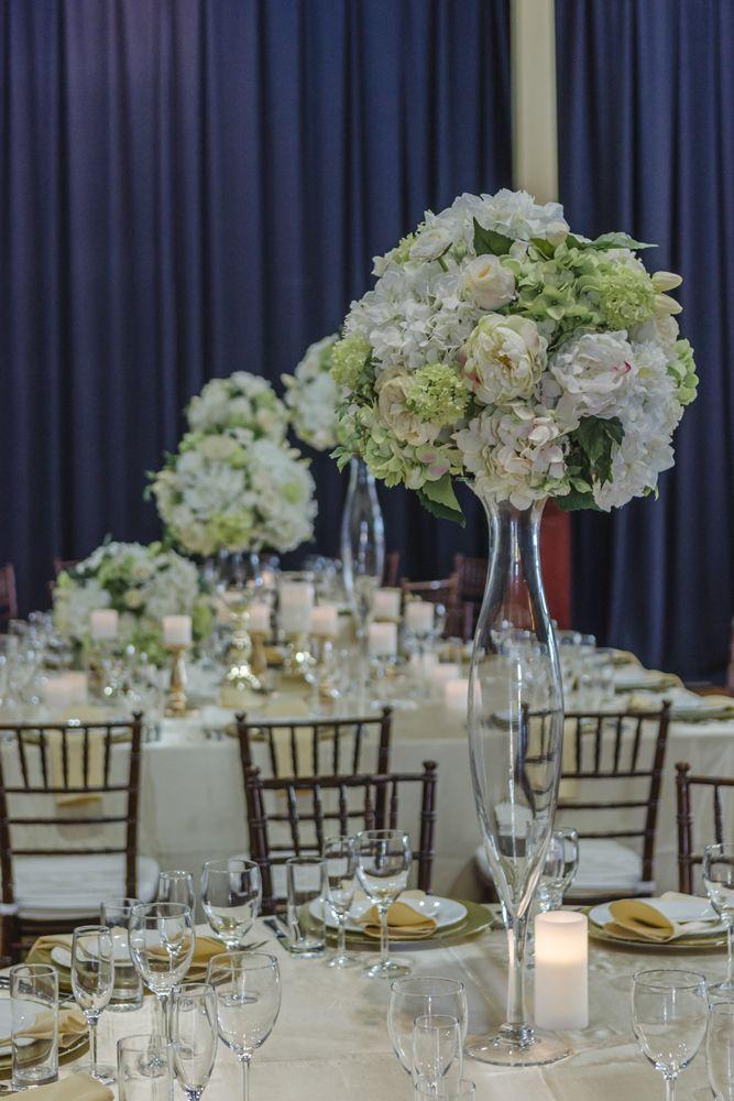raised floral arrangements