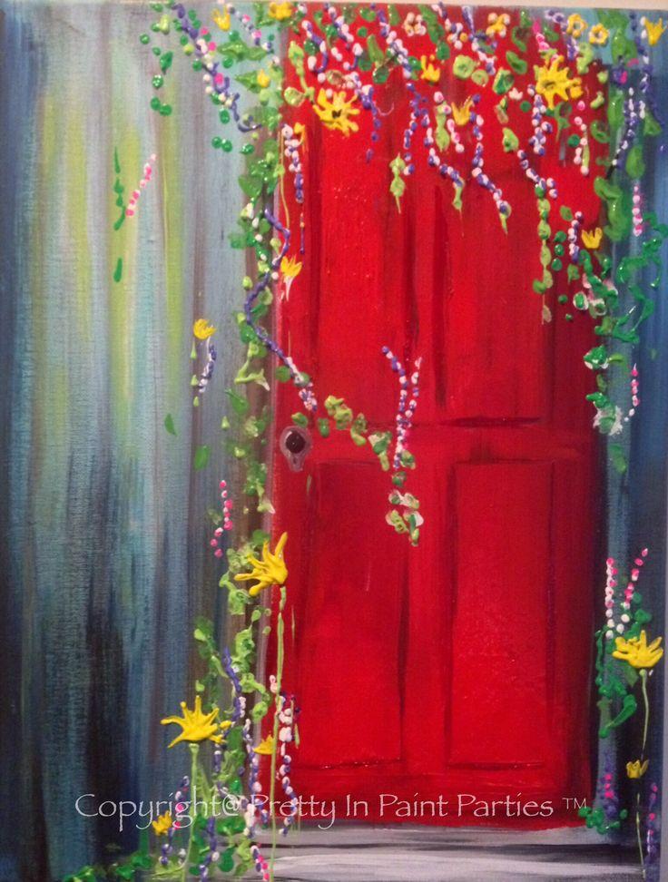 """""""Vintage Red"""" Artist: Mert Wray"""