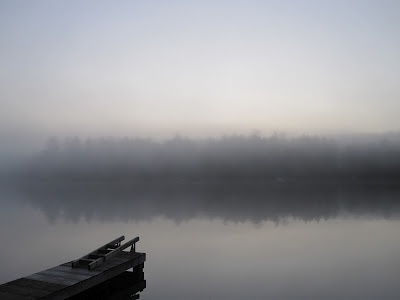 Rensselaer Plateau Life: Fog on the Lake: In Dreams