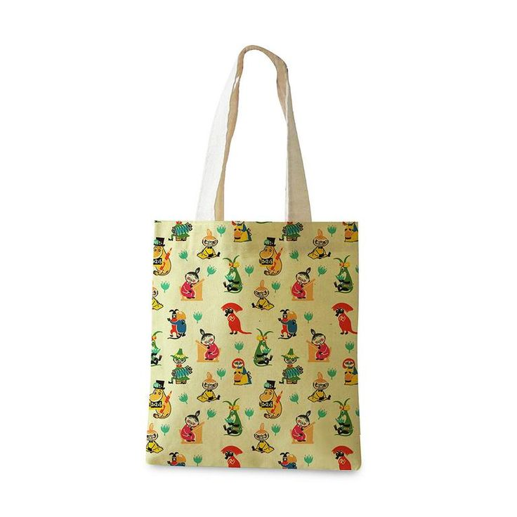 50's pattern shopping bag - The Official Moomin Shop