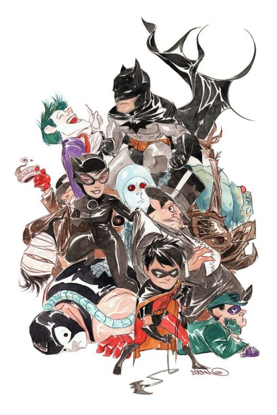 Lil Gotham by Dustin Nguyen