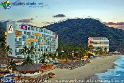 Hyatt ziva puerto vallarta for Hoteles familiares playa