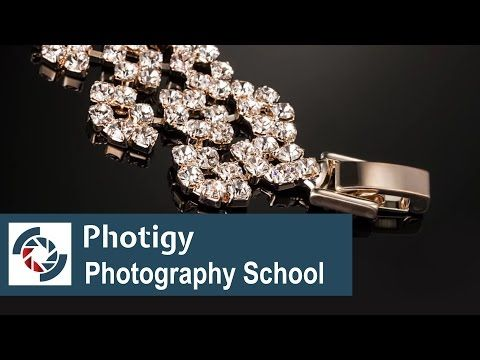 Jewelry Photography Tutorial: Easy lighting setup with DIY LED - YouTube    One of the more useful tutes I've seen on this.