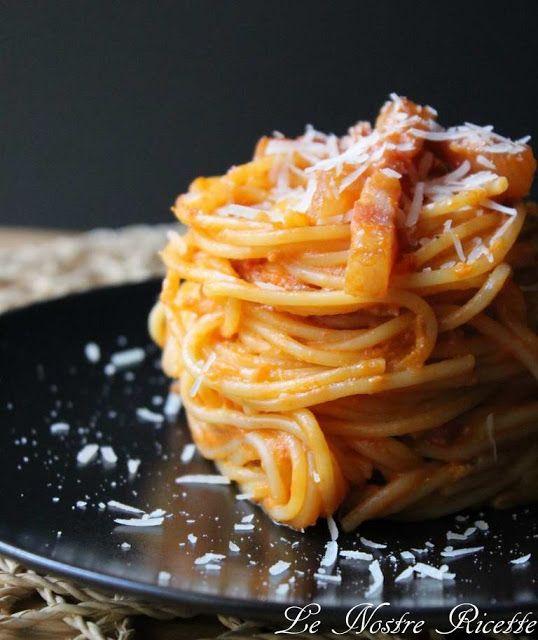 Le nostre Ricette: Spaghetti alla carbonara e amatriciana