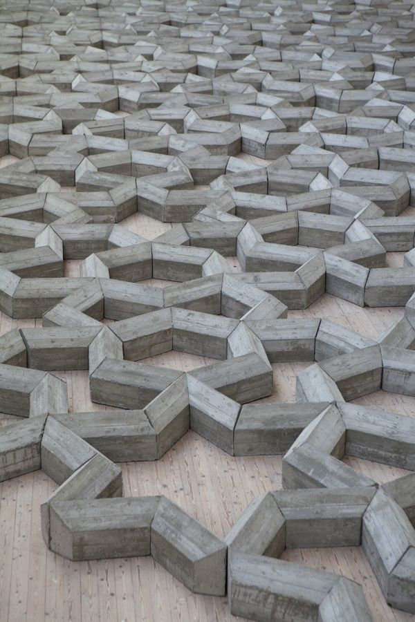 #concrete geometry art