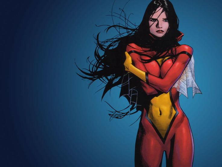 Spider Woman unmasked... if i am spider man?? does that make you? ^