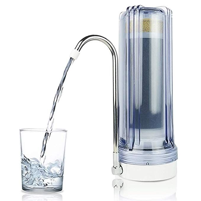 Apex Mr 1030 Countertop Water Filter Clear Review Countertop