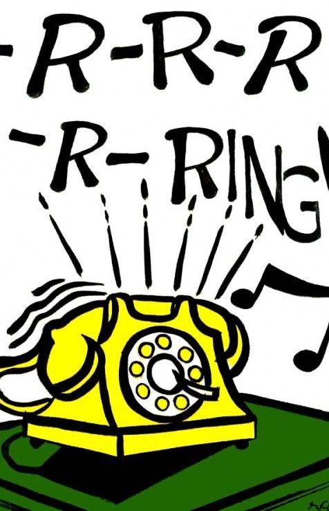 R-r-r-r-ring...Roy Lichtenstein