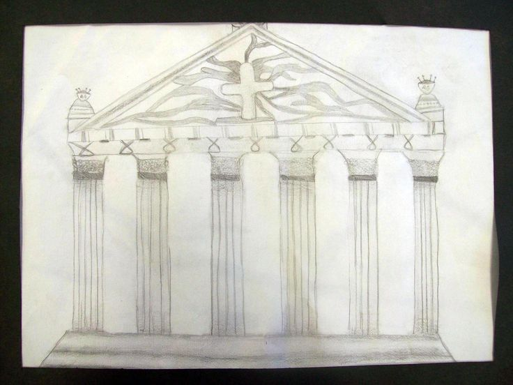 Greek Architecture Drawing stunning 10+ greek architecture drawing inspiration of ancient