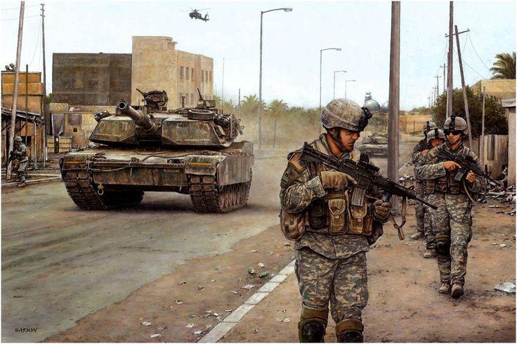 Ready first in Iraq