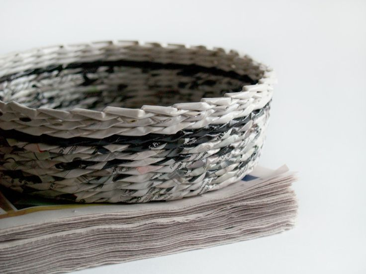 Handicraft Newspaper Basket : Best images about  on