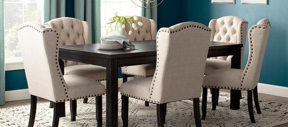 Wayfair Com Online Home Store For Furniture Decor Outdoors More Furniture Solid Wood Dining Set Dining Room Furniture