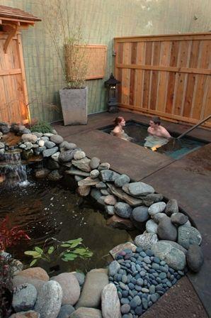 Chozu bath and tea gardens (and cottages) in Ashland Oregon