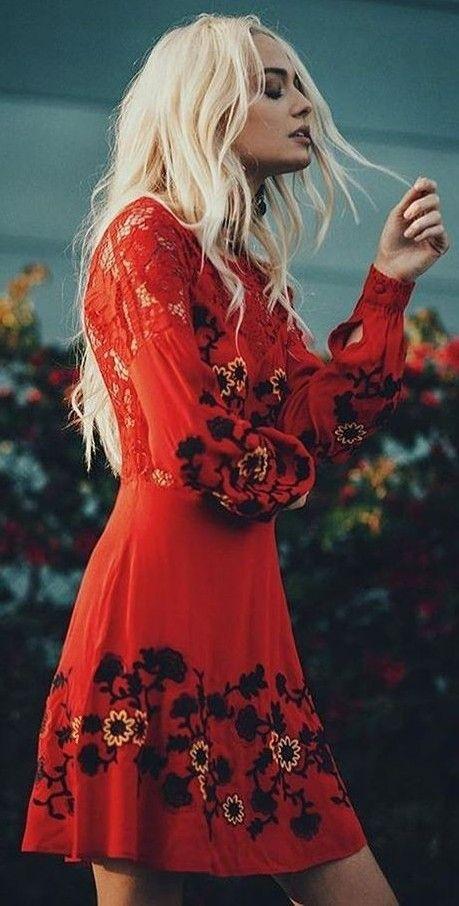 Looking Cute in Isabella Long Sleeve Dress | ForLoveAndLemons