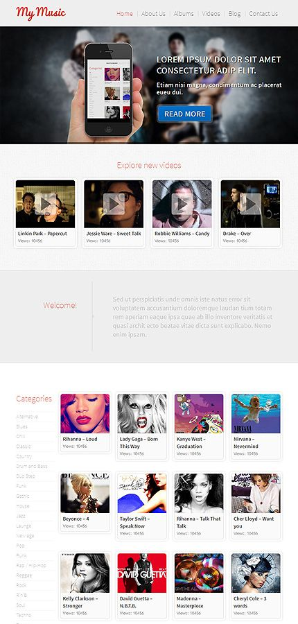 49 best music web templates images on pinterest role models get template espresso thats wordpress template pronofoot35fo Gallery