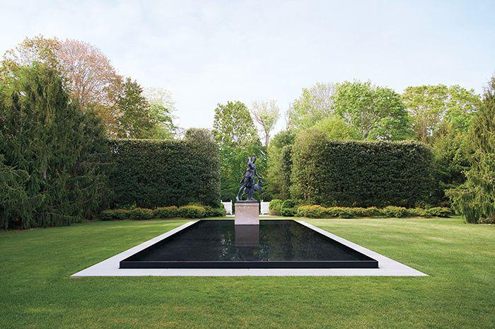 Le jardin de sculptures de l'architecte Peter Marino © Jason Schmidt