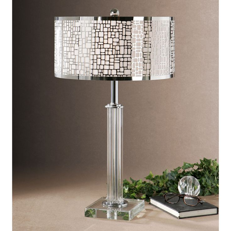 The Lucius 29 Inch Table Lamp Displays A Base