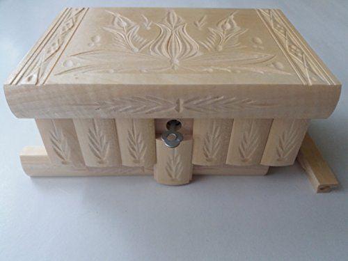 Nuevo gran caja puzzle de madera lacada natural rompecabezas, caja secreta, caja mágica, la caja de almacenaje de la joyería, caja de madera, caja tallada, regalo para la hija hermana