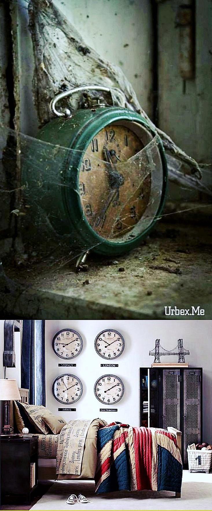 Green Wall Clock Kitchen Wall Clocks Battery Operated Big Clock
