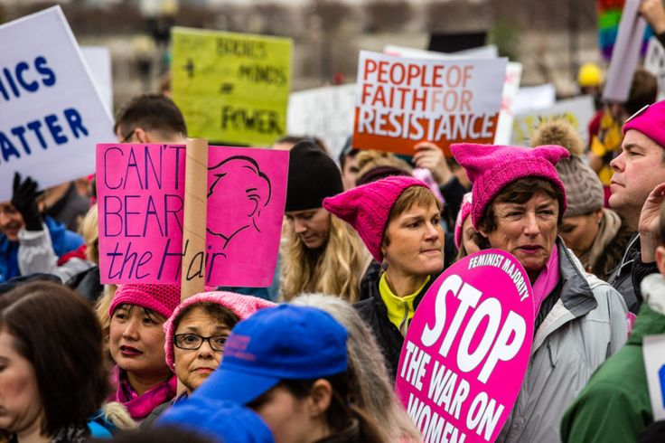 The Women's March Defines Protest in the Facebook Age   Credit: Timothy Fadek for WIRED   From Wired.com