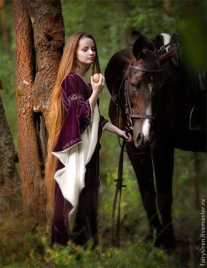 Вариации на тему эльфийского платья.