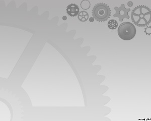 This is a Mechanical Gear PowerPoint design with a gray background and a gear design ready for download and use in engineering PPT Presentations or industrial presentations